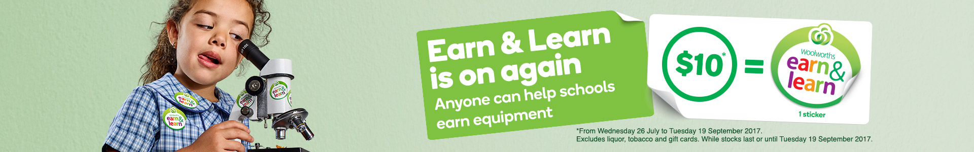 Discover woolworths online earn and learn is on again negle Image collections