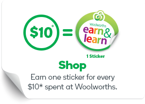Discover woolworths online earn one sticker for every 10 spent at woolworths negle Image collections