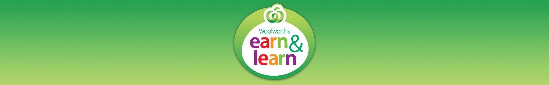 Earn & Learn program. Shop now.