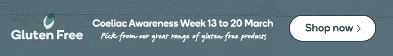 Gluten Free - Coeliac Awareness Week 13 to 20 March. Pick from our great range of gluten free products. Shop now.